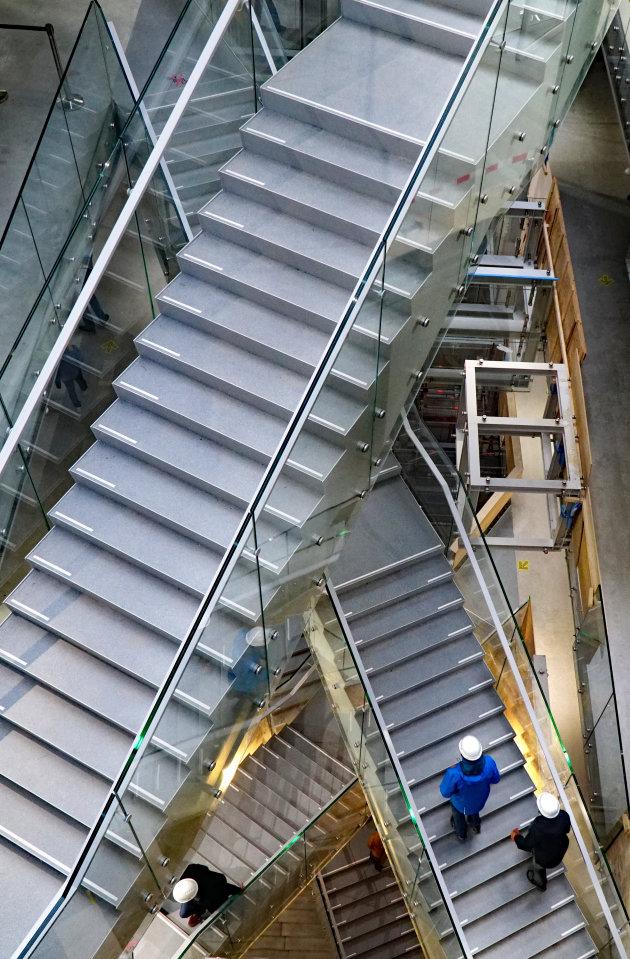 Escher trappenhuis in Depot Rotterdam