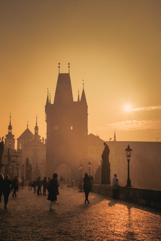 Het gouden uurtje in Praag