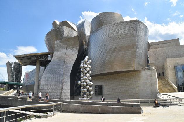 Het Guggenheim museum Bilbao