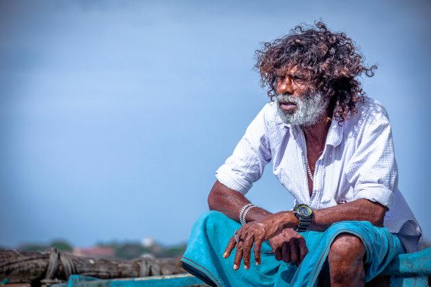 De visser van Sri Lanka