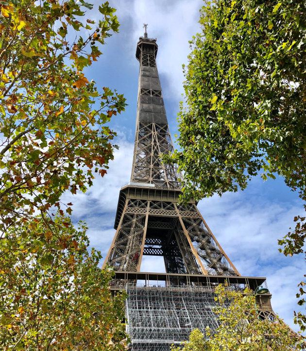 De iconische Eiffeltoren