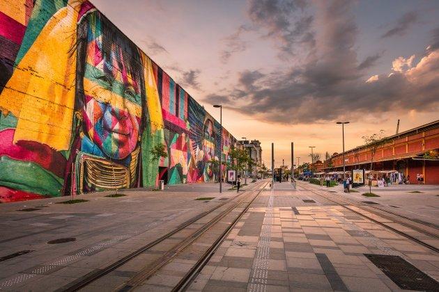 Grootste street art  ter wereld