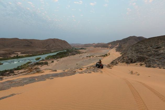 Desolate landschap