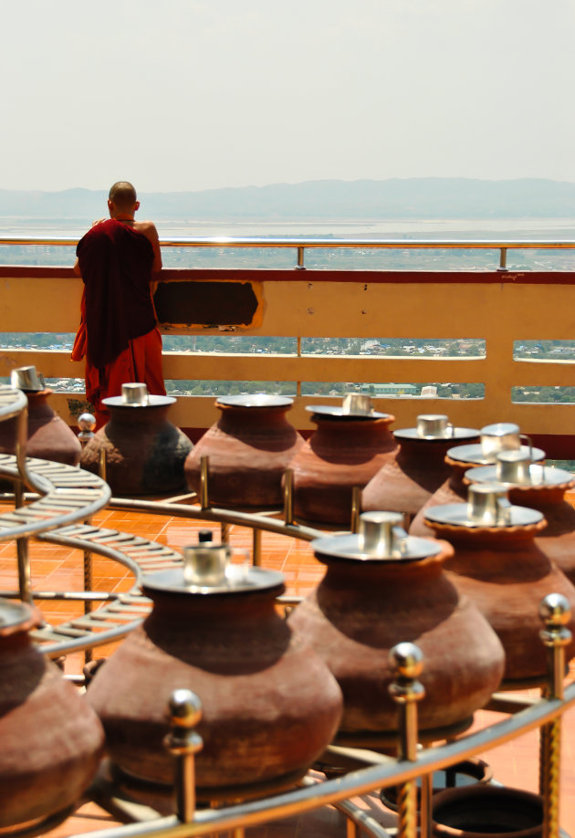 Uitzicht vanaf Mandalay Hill