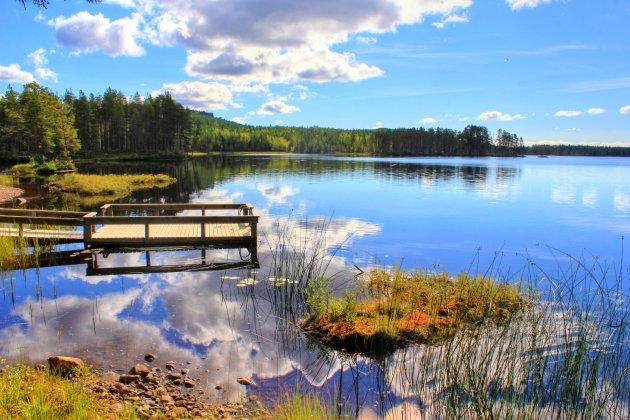 Picknickplek Brindsjön Dalarna
