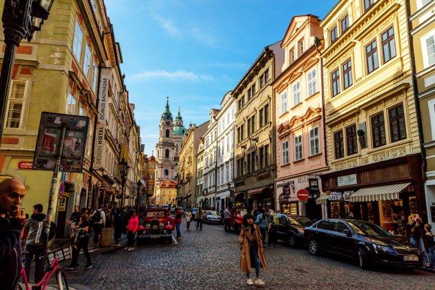 Het centrum van Praag
