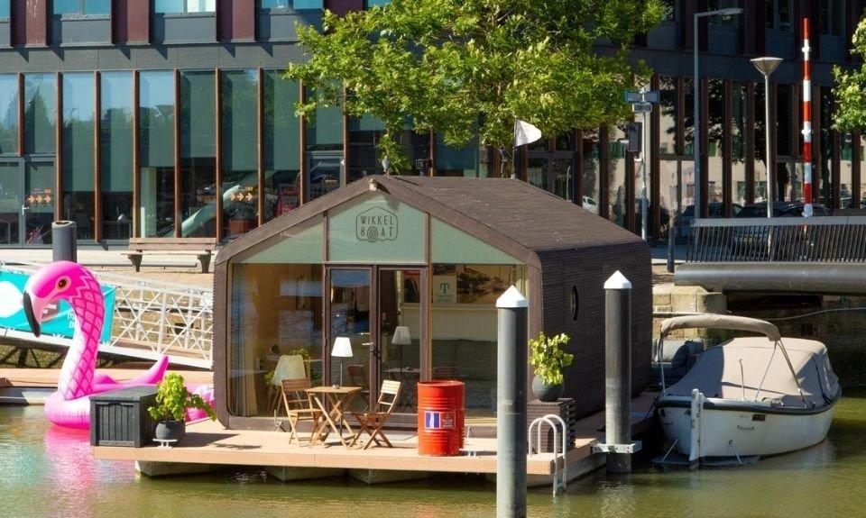 Wikkelboat Rotterdamse Wijnhaven