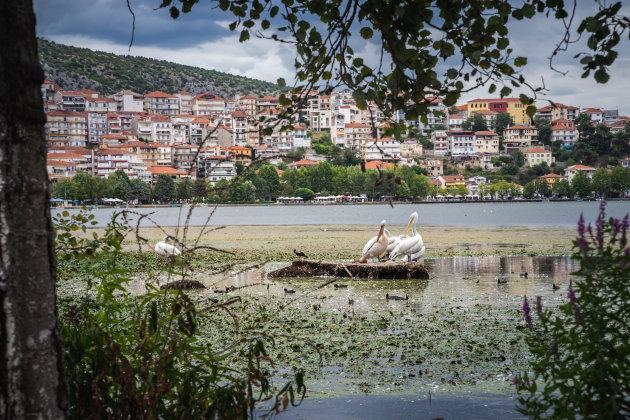 Zicht op Kastoria