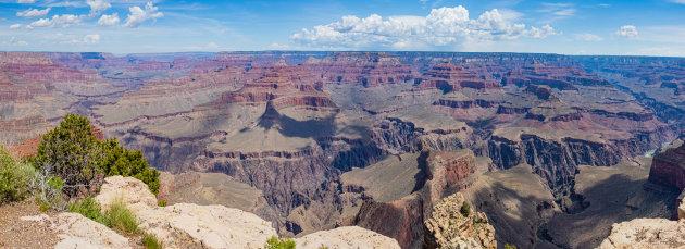 Uitgestrekte Grand Canyon