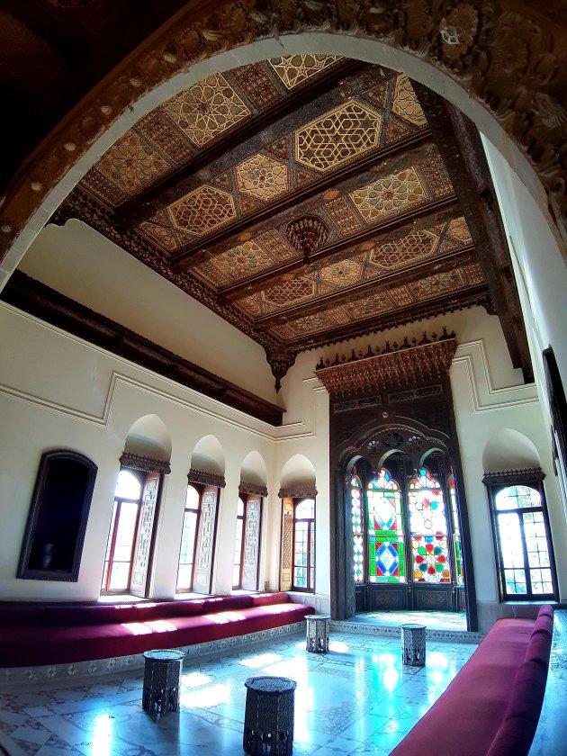Interieur paleis Beit ed-Dine