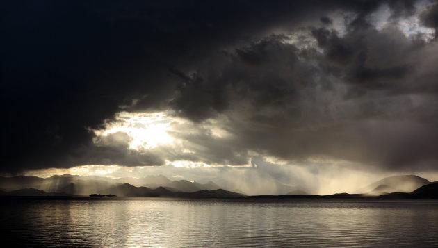 Pagong Tso lake
