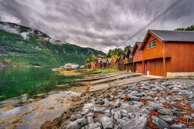 Verwoestende tsunami in Tafjord