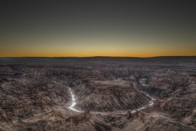 Namibië Fishriver Canyon