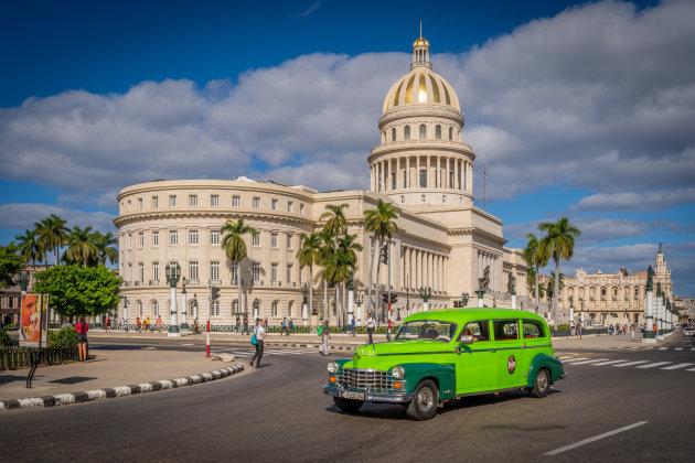 Het gerenoveerde El Capitolio