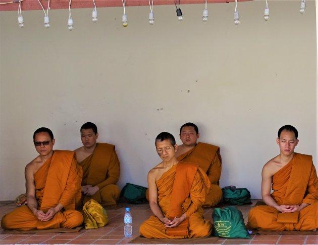 Mediterende Monniken.