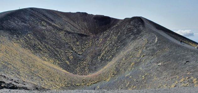 gedoofde krater