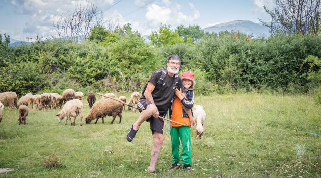 De vrolijke herder