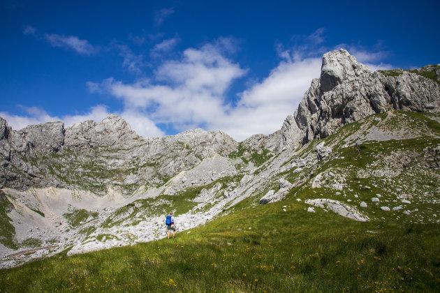 wandelen in een onbekend stukje Europa