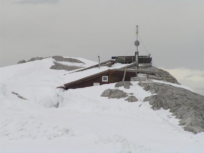 Seethalerhutte op 2740m