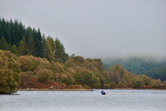 Schotland in de herfst