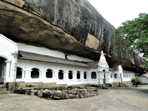 De grot Tempels van Dambulla.