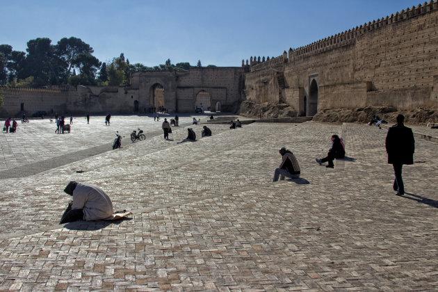 Lijnenspel plein Fez