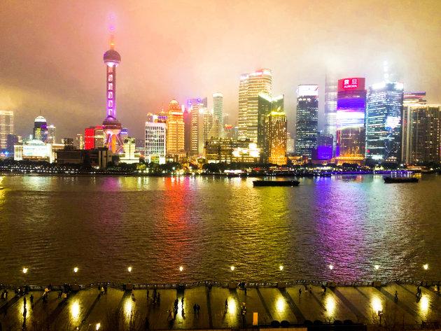 De Bund in Shanghai