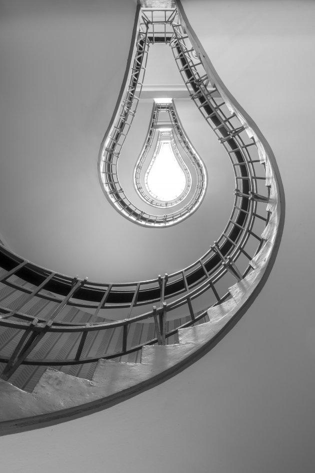 bijzondere trap in Praag