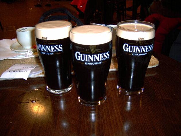 Heerlijke Guinness!