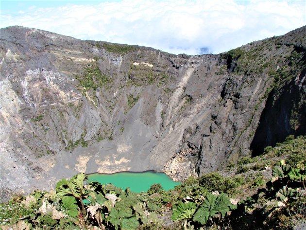 Irazu Vulkaan.