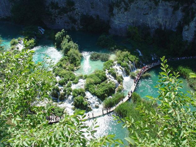 Plitvice meren een prachtig stukje natuur