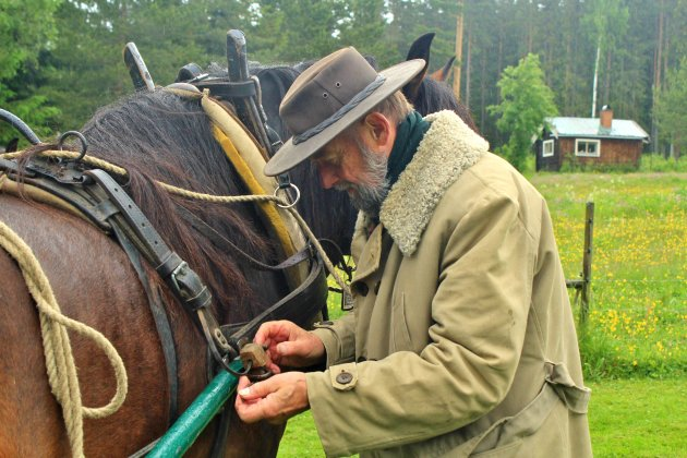 De man en zijn paard