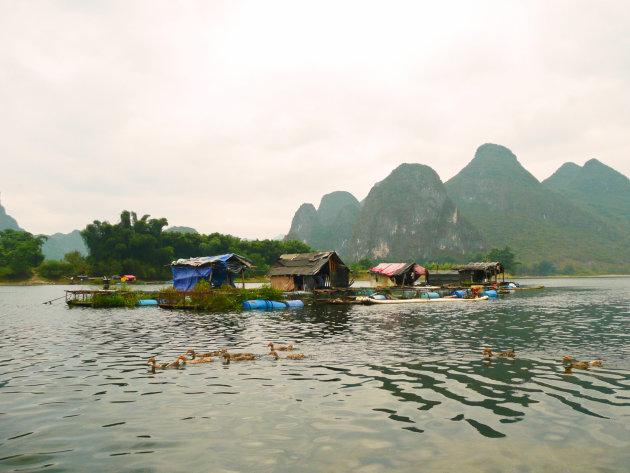 Op de Lijiang rivier