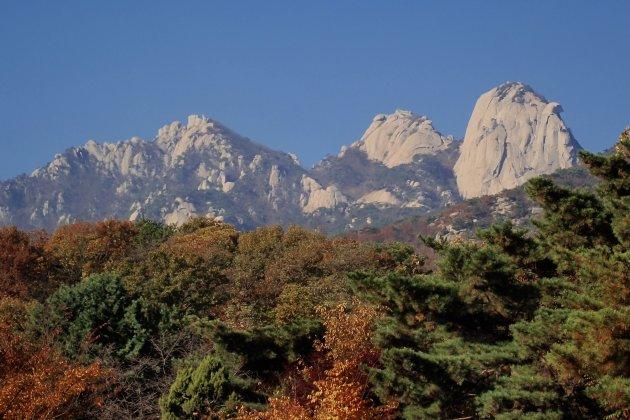 Herfst in Zuid Korea