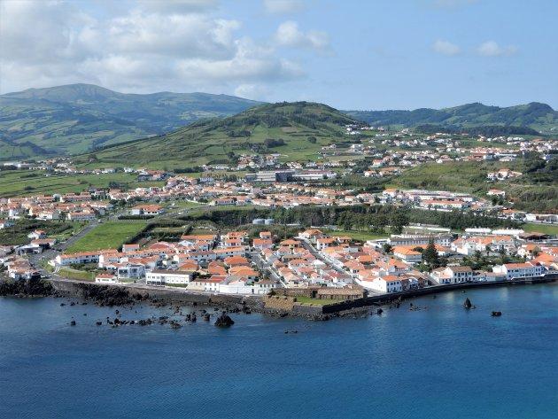 Horta vanaf Monte da Guia