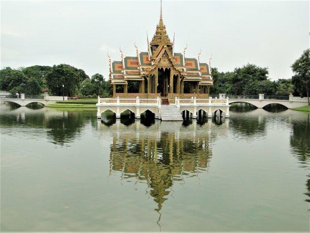 Tempel bij het Paleis van Bang Pa-in.