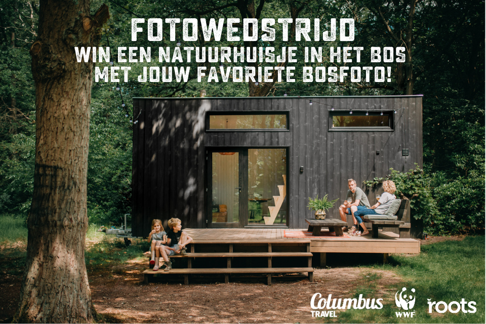fotowedstrijd: win een natuurhuisje in het bos