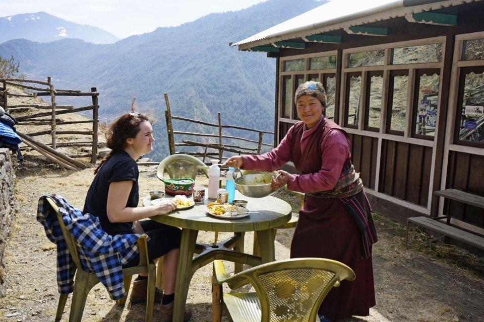 Proef de lokale keuken in Nepal.