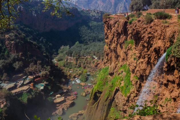 Wandelen in de omgeving van de watervallen