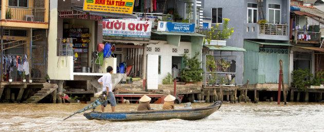 Vervoer in de Mekong Delta