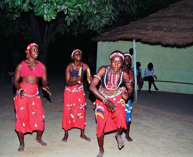 Dans in de avond