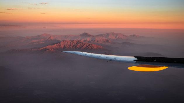 Het Andes gebergte