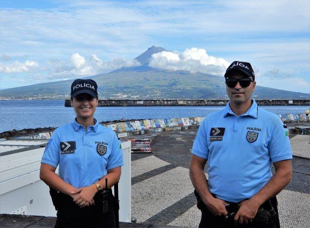 Streng bewaakte Pico vulkaan