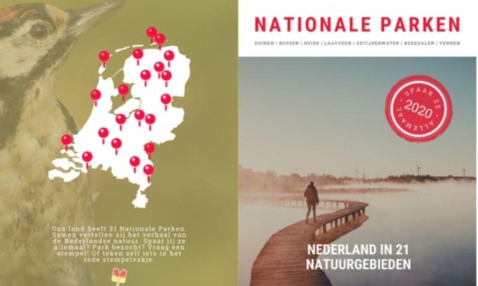 Het Nationale Parken Paspoort stempelboekje