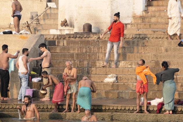 Zonsopkomst aan de Ganges
