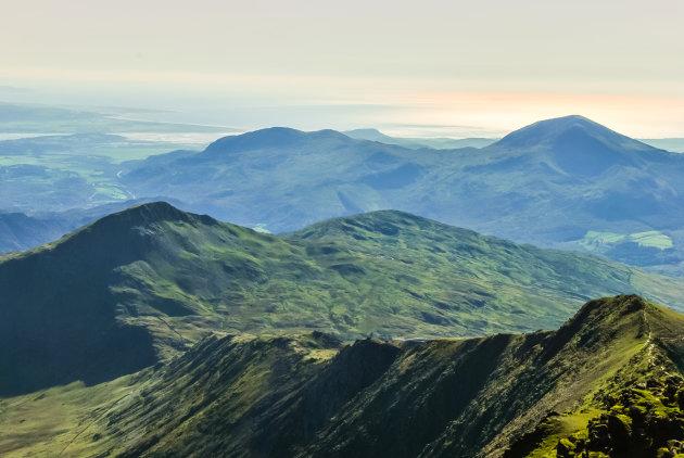Op het hoogste punt van Wales