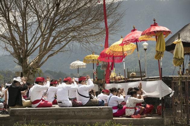 Indonesië Bali Pura Ulun Danu Bratan Tempel
