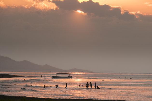 Indonesië Bali Lovina Beach