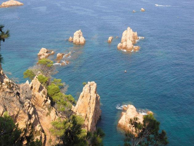 De Costa Brava in volle glorie