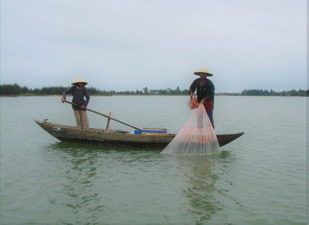 Visser in Hoi An.